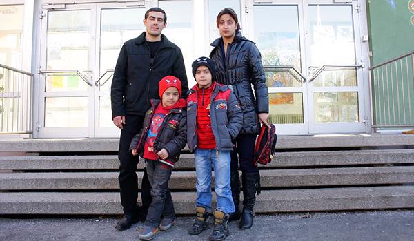 familie kirakosyan (foto: gruene)