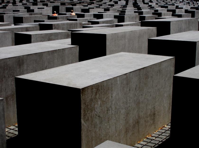 berlin holocaust memorial (foto: tochis creative commons flickr)