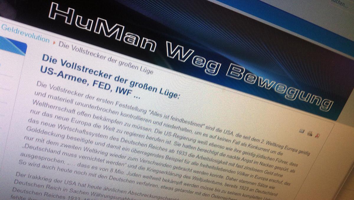 hpö: parteigründung mit antisemitismus und verherrlichung des deutschenreiches