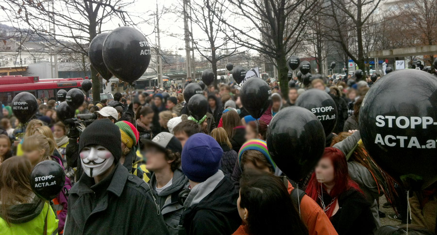 antiactademo salzburg 25.2.2012 (foto: bernhard jenny)