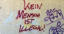kein mensch ist illegal - foto: bernhard jenny