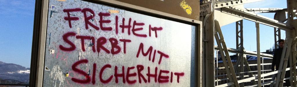freiheit sicherheit foto: bernhard jenny