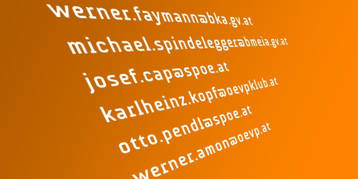 offenes email an faymann, spindelegger, cap, kopf, pendl,amon