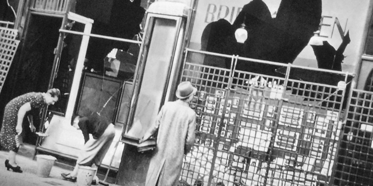 Lendemain de Pogrom, le 19 novembre 1938 à Berlin © dalbera creative commons