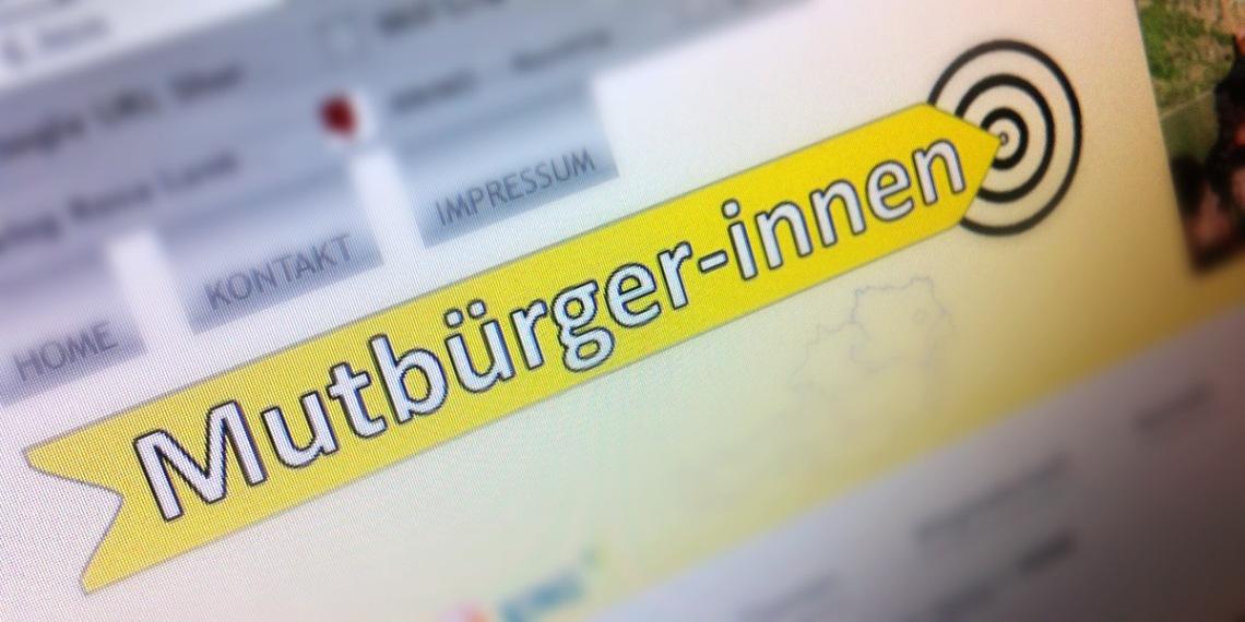 screenshot mutbuerger-innen.at by bernhard jenny