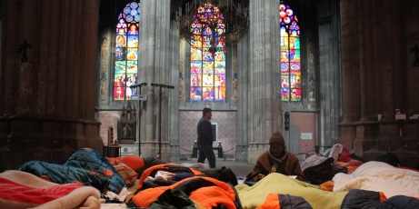 foto: refugeecamp von DD4RC (creative commons)