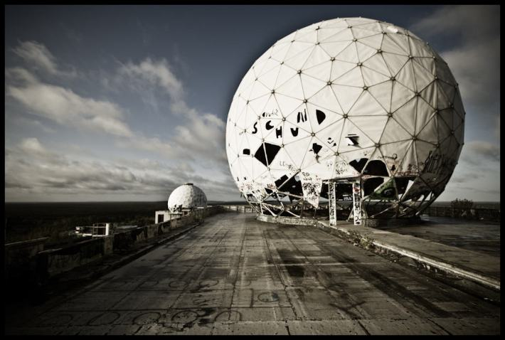 NSA_Teufelsberg foto by abandoned_be creative commons by-nc-nd