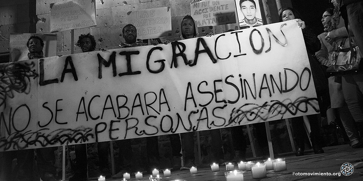die migration wird nicht durch morden beendetwerden