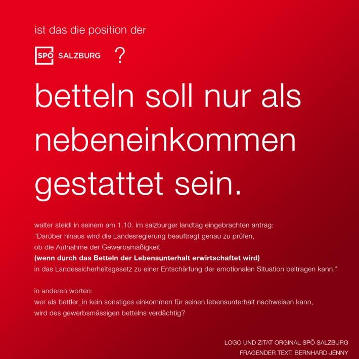 logo und zitat: spö salzburg frage: bernhard jenny