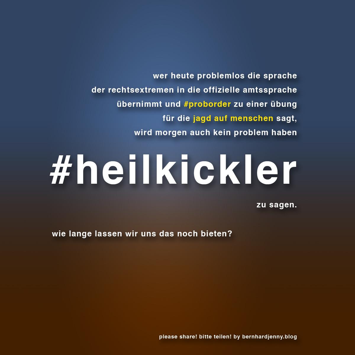 #heilkickler