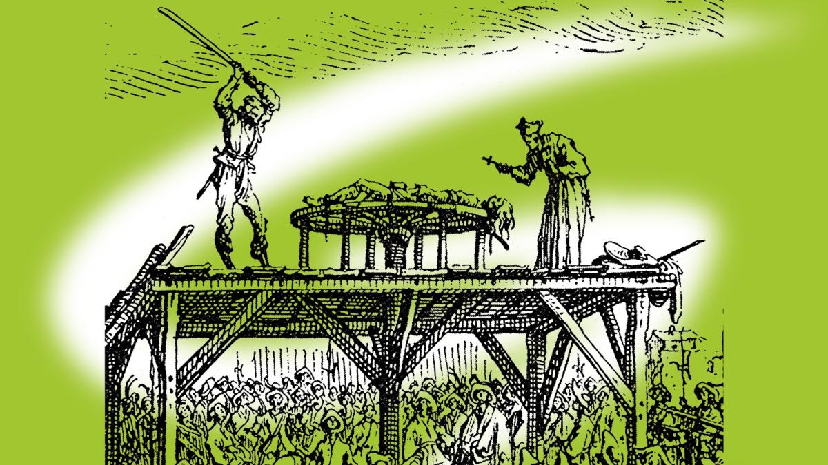 """grüne werden """"gerädert und gevierteilt"""""""